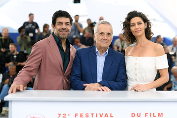 Pierfrancesco Favino Maria Fernanda Candido 'The Traitor' Photocall - The 72nd Annual Cannes Film Festival