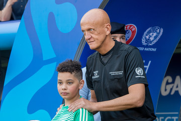 Pierluigi Collina UEFA Match For Solidarity