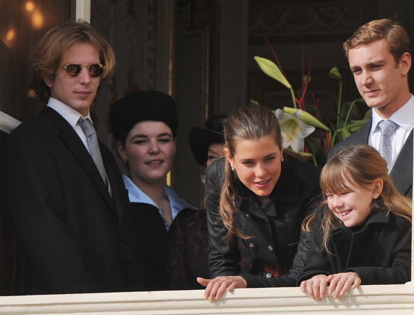 pierre casiraghi 2009. (from left) Andrea Casiraghi,