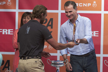 Pierre Casiraghi 35th Copa del Rey Mapfre Sailing Cup - Awards Ceremony