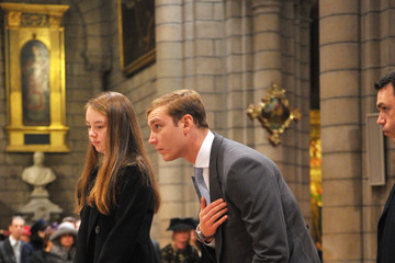 Pierre Casiraghi Celebration of Mass During Monaco National Day