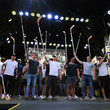 Pierre-Edouard Bellemare Vegas Golden Knights Host Stick Salute To Vegas And Our Fans Event