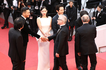 Pierre Lescure 'Burning (Beoning)' Red Carpet Arrivals - The 71st Annual Cannes Film Festival