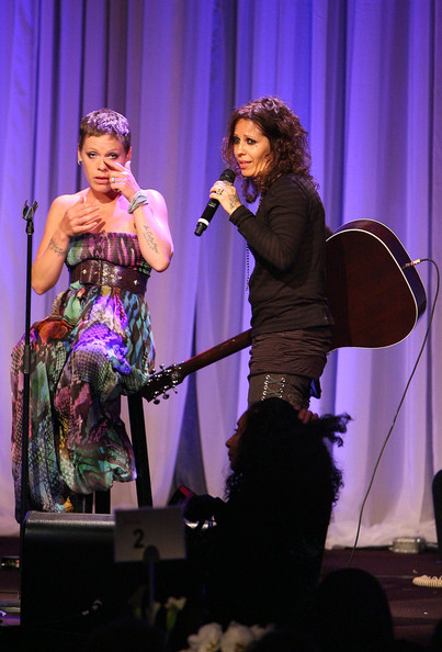 Pink and Linda Perry - L.A. Gay & Lesbian Center's