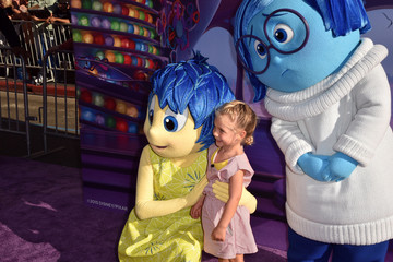 Pink Premiere of Disney-Pixar's 'Inside Out' - Red Carpet