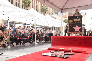 Pink Pink Is Honored With A Star On The Hollywood Walk Of Fame