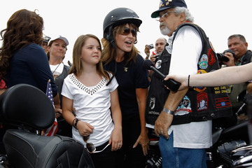 Piper Palin Sarah Palin Joins Rolling Thunder Rally In Washington DC