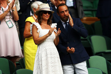 Pippa Middleton Day Four: The Championships - Wimbledon 2018