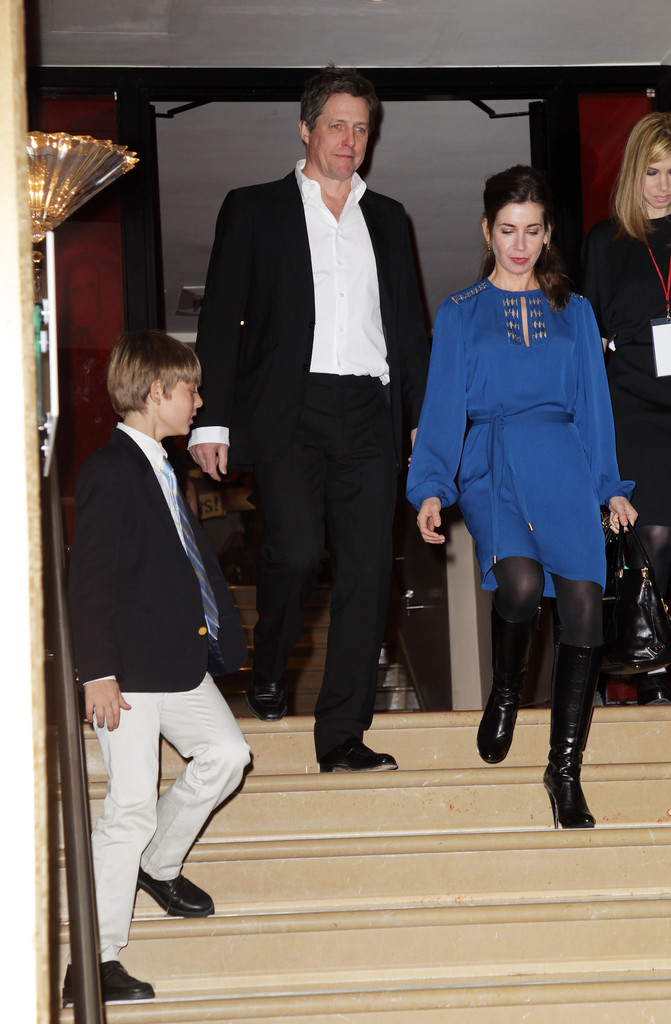Bonneville And Son >> Hugh Grant Damian Hurley Photos - The Pirates! In An Adventure With Scientists - UK Premiere - 2 ...