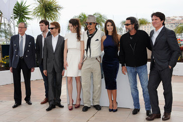 "Jerry Bruckheimer Geoffrey Rush ""Pirates of the Caribbean: On Stranger Tides"" Photocall - 64th Annual Cannes Film Festival"