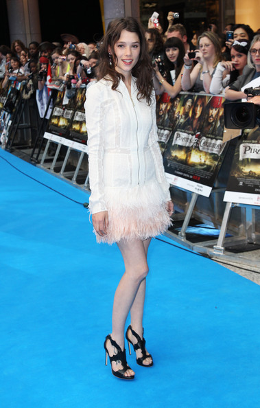 (UK TABLOID NEWSPAPERS OUT) Astrid Berges-Frisbey attends the UK premiere of Pirates Of The Caribbean: On Stranger Tides at the Vue Westfield on May 12, 2011 in London, England.