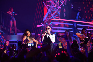 Pitbull Univision's 13th Edition Of Premios Juventud Youth Awards - Show