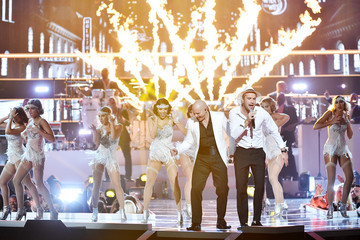 Pitbull Three Lions Entertainment Presents Fashion Rocks 2014 - Show