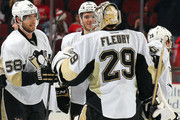 Kris Letang and Marc-Andre Fleury Photos Photo
