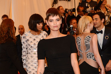 Pixie Geldof Red Carpet Arrivals at the Met Gala