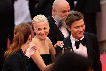 Pixie Lott Oliver Cheshire 'Le Belle Epoque' Red Carpet - The 72nd Annual Cannes Film Festival
