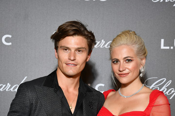 Pixie Lott Oliver Cheshire Chopard And Annabel's Host The Gentleman's Evening At The Hotel Martinez - 72th Cannes Film Festival