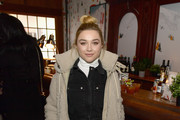 Florence Pugh of 'Fighting With My Family' attends the Pizza Hut Lounge during the 2019 Sundance Film Festival in Park City, UT