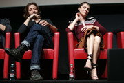 Silvio Muccino and Vittoria Puccini attend 'The Place' press conference during the 12th Rome Film Fest at Auditorium Parco Della Musica on November 4, 2017 in Rome, Italy.