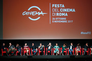 Cast members attends 'The Place' press conference during the 12th Rome Film Fest at Auditorium Parco Della Musica on November 4, 2017 in Rome, Italy.