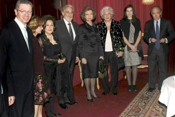 Infanta Pilar Placido Domingo Celebrates His 70th Birthday - Gala