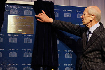 Norman Tebbit A Plaque Is Unveiled On The 25th Anniversary Of The Brighton Bomb