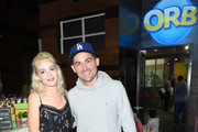 """Former """"Gossip Girl"""" stars Leighton Meester and Kevin Zegers reunite at the We All Play by ShareWell at the future home of the Cayton Children's Museum at Santa Monica Place on April 28, 2018 in Santa Monica, California."""