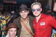 Eric Podwall; Chord Overstreet and Guests attend Podwall Entertainment's 9th Annual Halloween Party Presented By Makers Mark at The Peppermint Club on October 31, 2018 in Los Angeles, California.