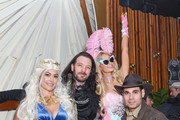 Guests, Paris Hilton and Eric Podwall attend Podwall Entertainment's 9th Annual Halloween Party Presented By Makers Mark at The Peppermint Club on October 31, 2018 in Los Angeles, California.