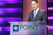 Jorge Valencia, Executive Director & CEO of Point Foundation, speaks onstage at Point Foundation?s Point Honors gala at The Beverly Hilton Hotel on October 13, 2018 in Beverly Hills, California.