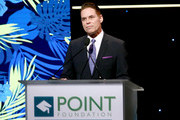 Point Foundation Executive Director and CEO Jorge Valencia speaks onstage during Point Honors Los Angeles 2019, Benefitting Point Foundation at The Beverly Hilton Hotel on October 12, 2019 in Beverly Hills, California.