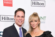 (L-R) Point Foundation Executive Director and CEO Jorge Valencia and Debbie Gibson attend Point Honors Los Angeles 2019, Benefitting Point Foundation at The Beverly Hilton Hotel on October 12, 2019 in Beverly Hills, California.