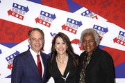 (L-R) Reince Priebus, Stephanie Miller and Donna Brazile attend the 2019 Politicon at Music City Center on October 26, 2019 in Nashville, Tennessee.