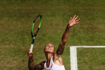 Polona Hercog Day Four: The Championships - Wimbledon 2017