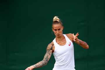 Polona Hercog Day Two: The Championships - Wimbledon 2017