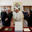 Pope Francis I Pope Francis Meets President Of Malta George Vella