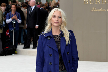 Poppy Delevingne Burberry Womenswear Spring/Summer 2016 - Arrivals
