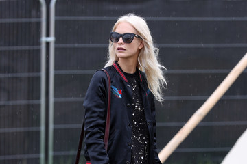 Poppy Delevingne Glastonbury Festival 2016 Sightings