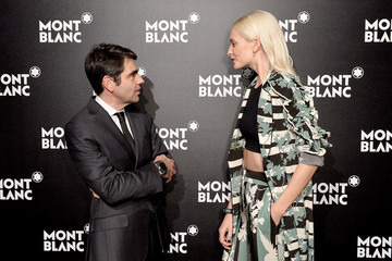 Poppy Delevingne Montblanc Summit Launch Event at the Ledenhall Building - Photocall
