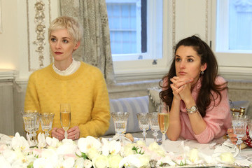 Portia Freeman Rosanna Falconer Kerastase And Millie Mackintosh Host Lunch At Annabel's To Celebrate Launch Of New Elixir Ultime