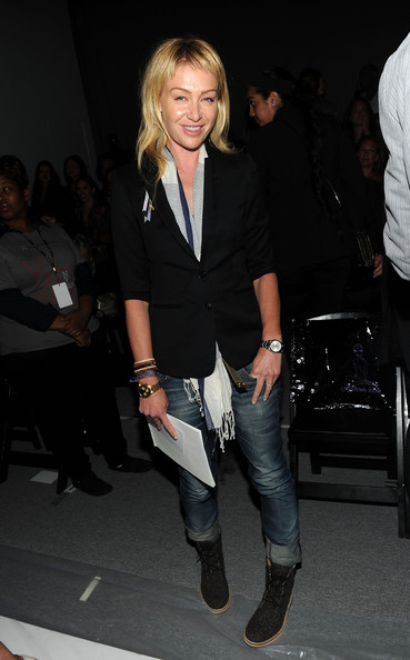 Portia de rossi photos richie rich front row spring 2011