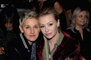 Portia de Rossi SAINT LAURENT at the Palladium - Inside