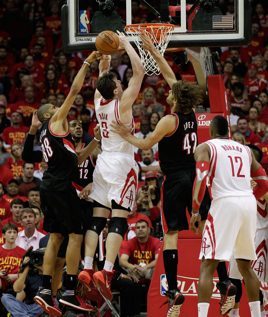 Portland Trail Blazers Live Stream: Nicolas Batum And Omer Asik Photos Photos