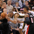 Mason Plumlee Rudy Gobert Photos