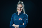 Laureus Academy Member Missy Franklin poses at the Mercedes Benz Building prior to the 2020 Laureus World Sports Awards on February 16, 2020 in Berlin, Germany.