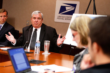 Joseph Corbett US Postmaster General Postal Discusses 3rd Quarter Finances At The USPS