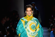 Model Ashley Graham walks the runway for the Prabal Gurung fashion show during New York Fashion Week: The Shows at Gallery I at Spring Studios on February 10, 2019 in New York City.