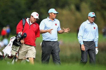 Eric Larson Practice Rounds-2010 Ryder Cup