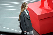 Gigi Hadid walks the runway during the Prada fashion show as part of Milan Fashion Week Fall/Winter 2020-2021 on February 20, 2020 in Milan, Italy.