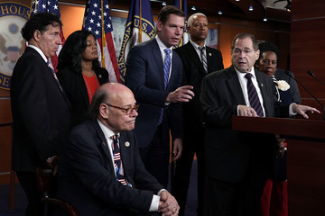 Pramila Jayapal Rep. Jerrold Nadler (D-NY) Holds News Conference To Denounce The Meeting Between Justice And FBI Officials And Rep. Nunes And Rep. Gowdy